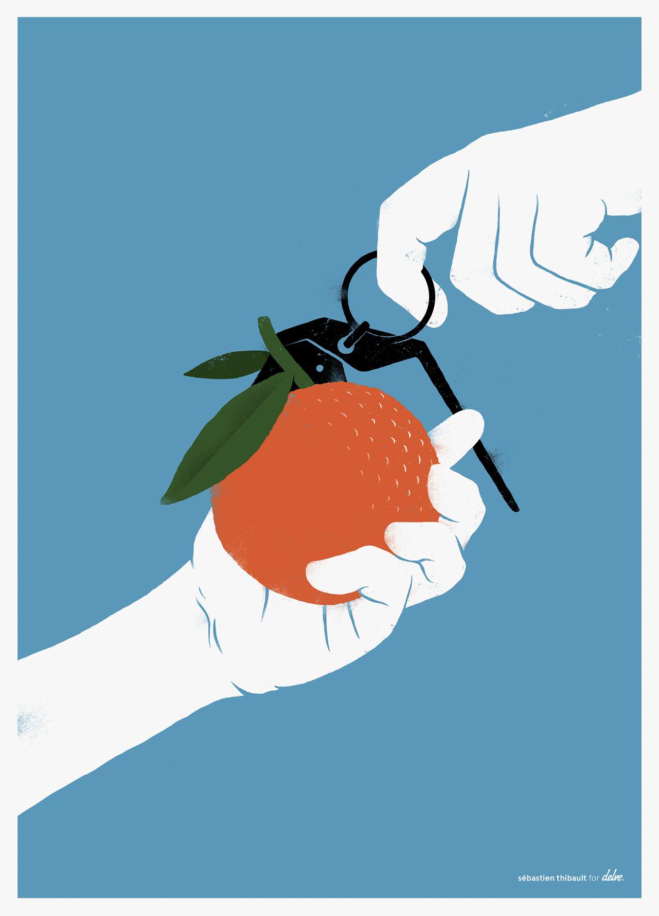 Tangerines by Sébastien Thibault