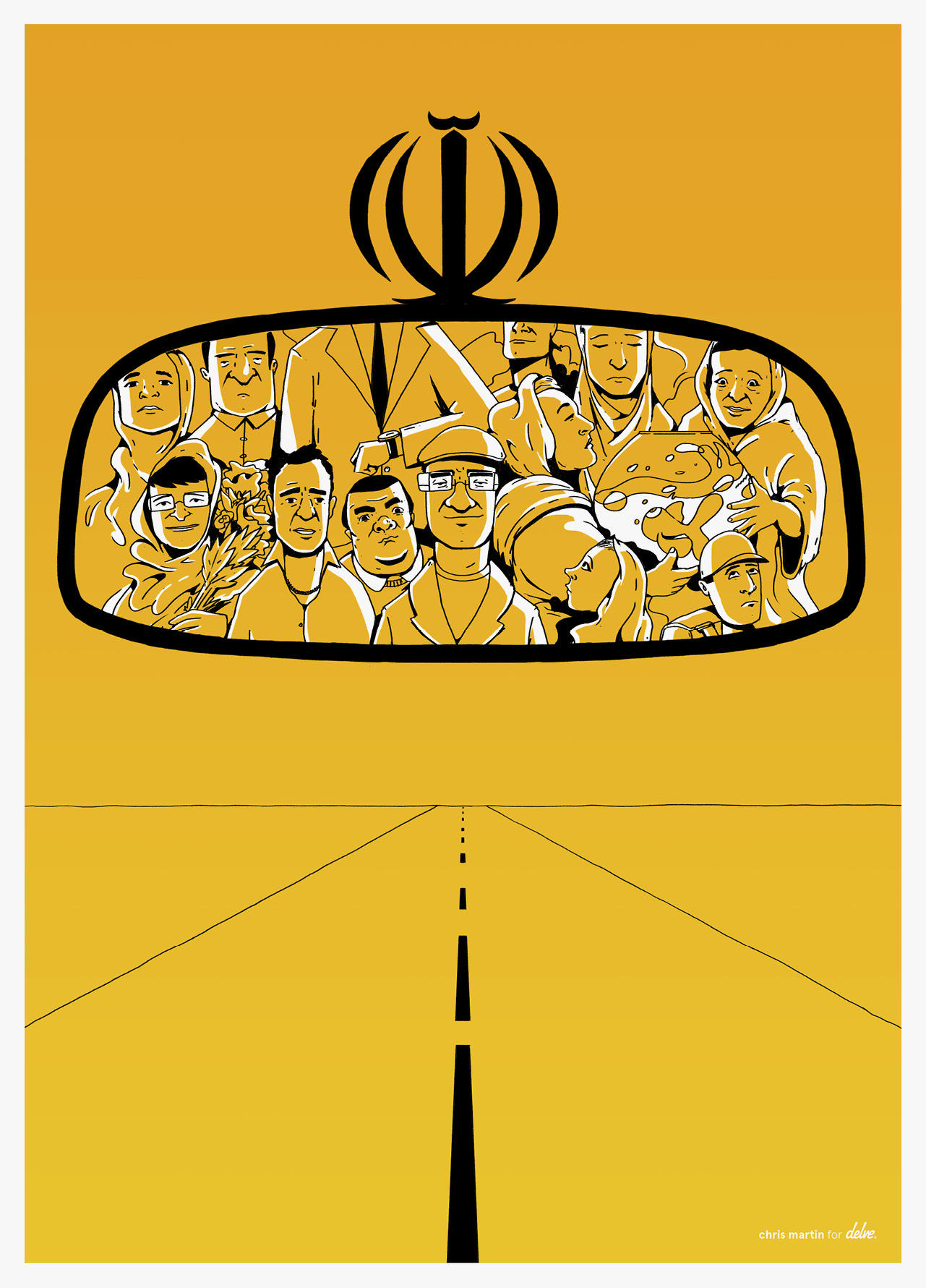Taxi Tehran by Chris Martin