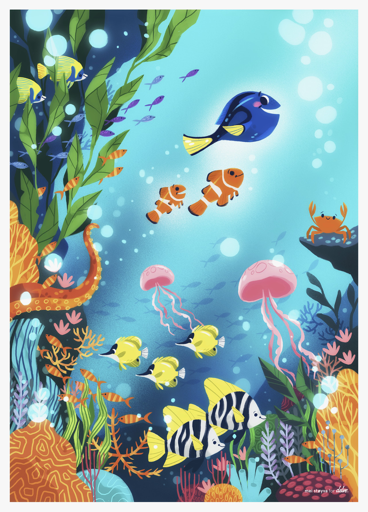 Finding Dory by Mei Støyva
