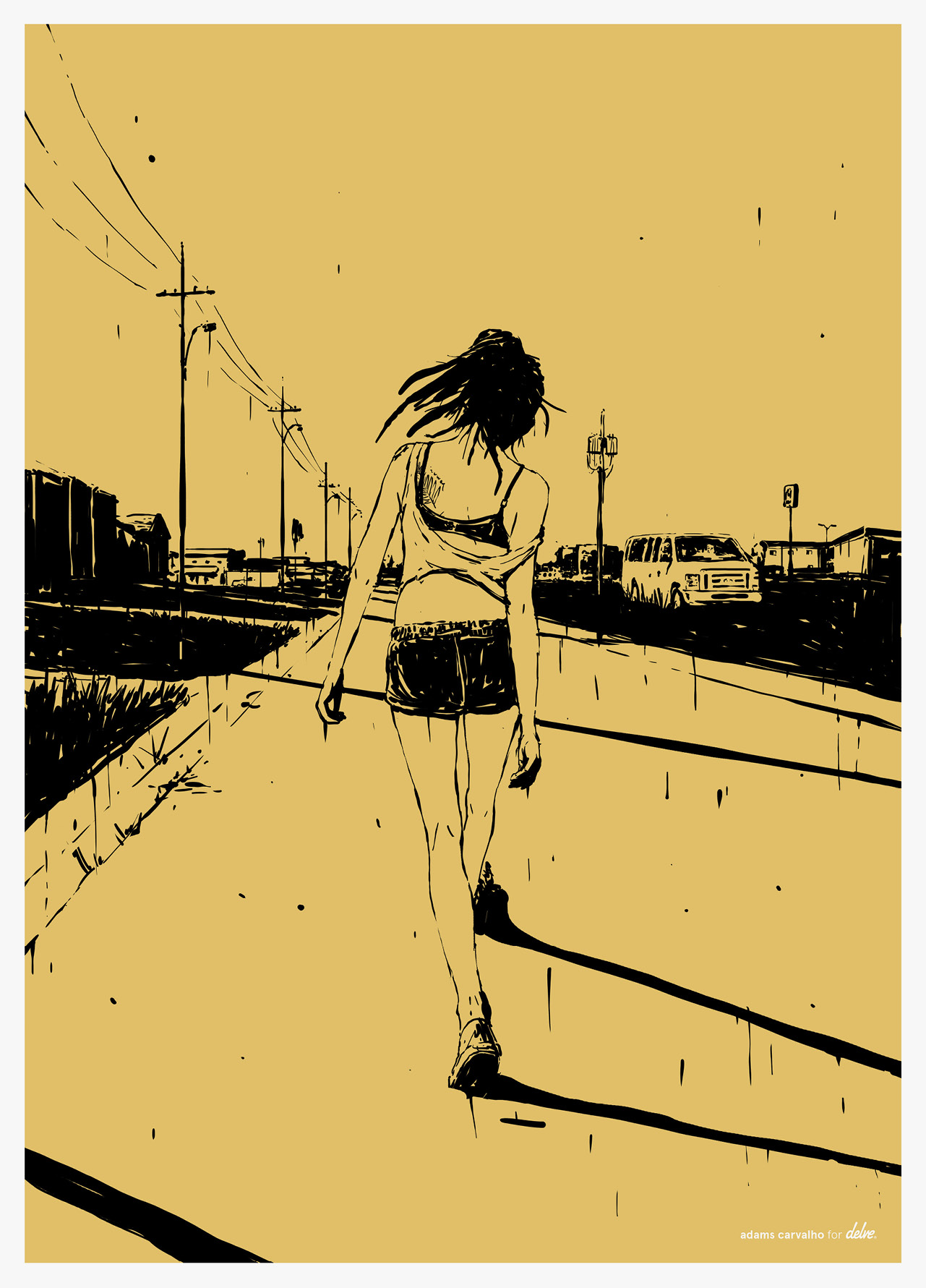 American Honey by Adams Carvalho
